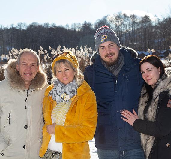Familie Dahlenburg vom Drostenhaus Feldberg